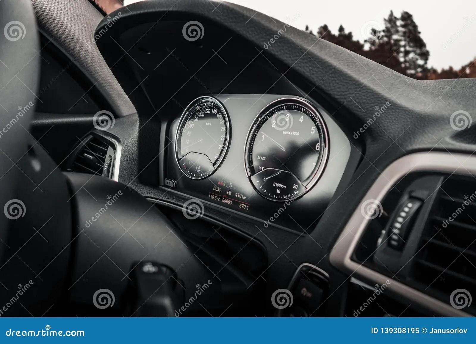 Car Instrument Panel Stock Photos