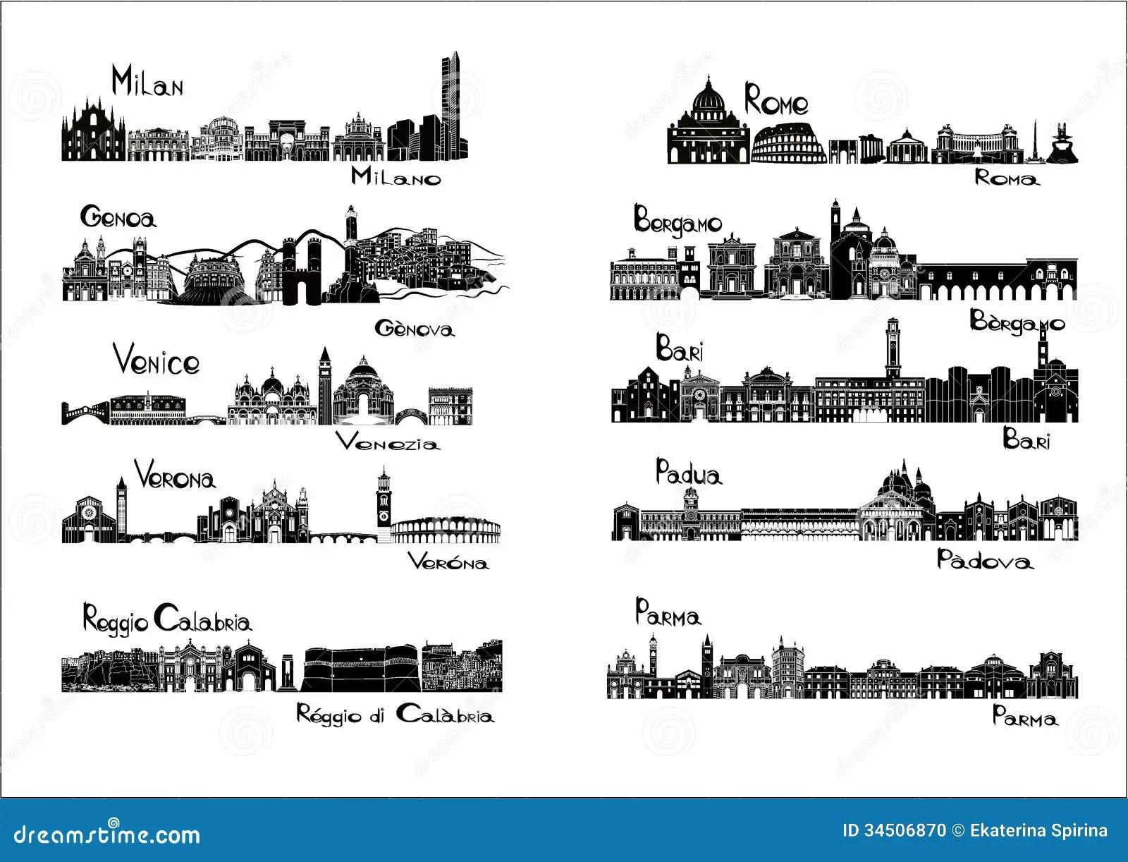10 Villes De L Italie