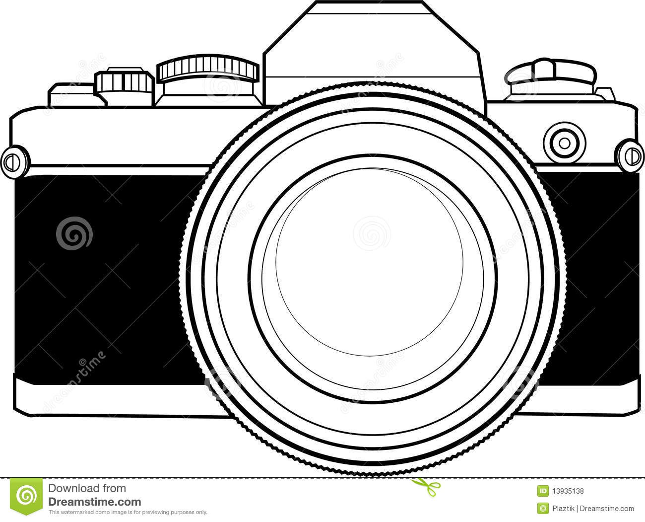 Vintage 35mm Camera Stock Illustrations 1 544 Vintage