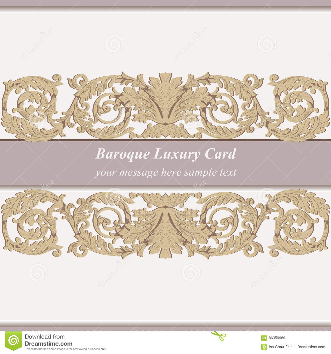 vintage baroque invitation card imperial style vector decor background luxury golden ornament royal victorian floral stock vector illustration of golden blue 86359989