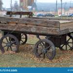 Old Wooden Cart Stock Photo Image Of Farming Decor 131980368