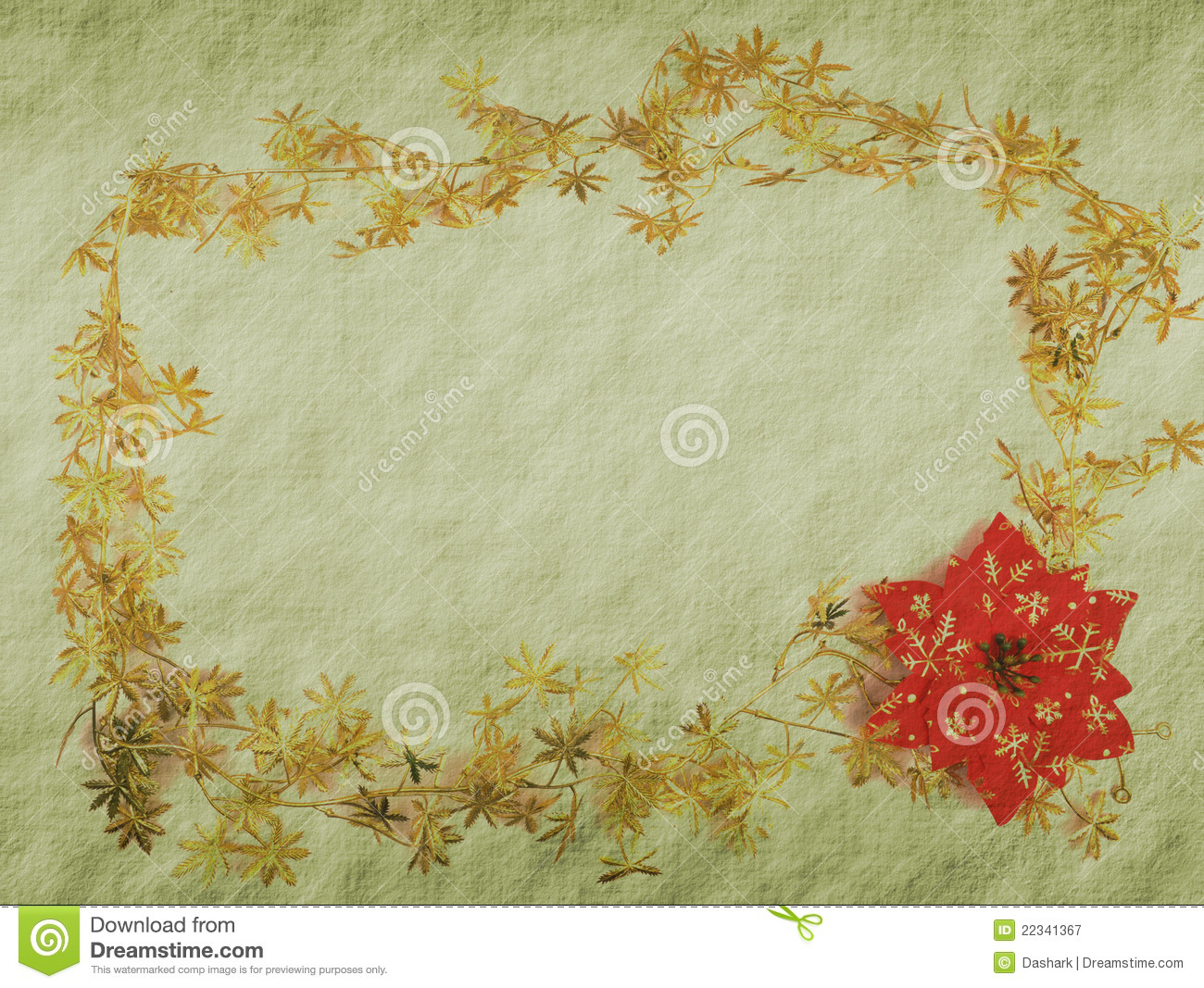 Vintage Christmas Background Royalty Free Stock