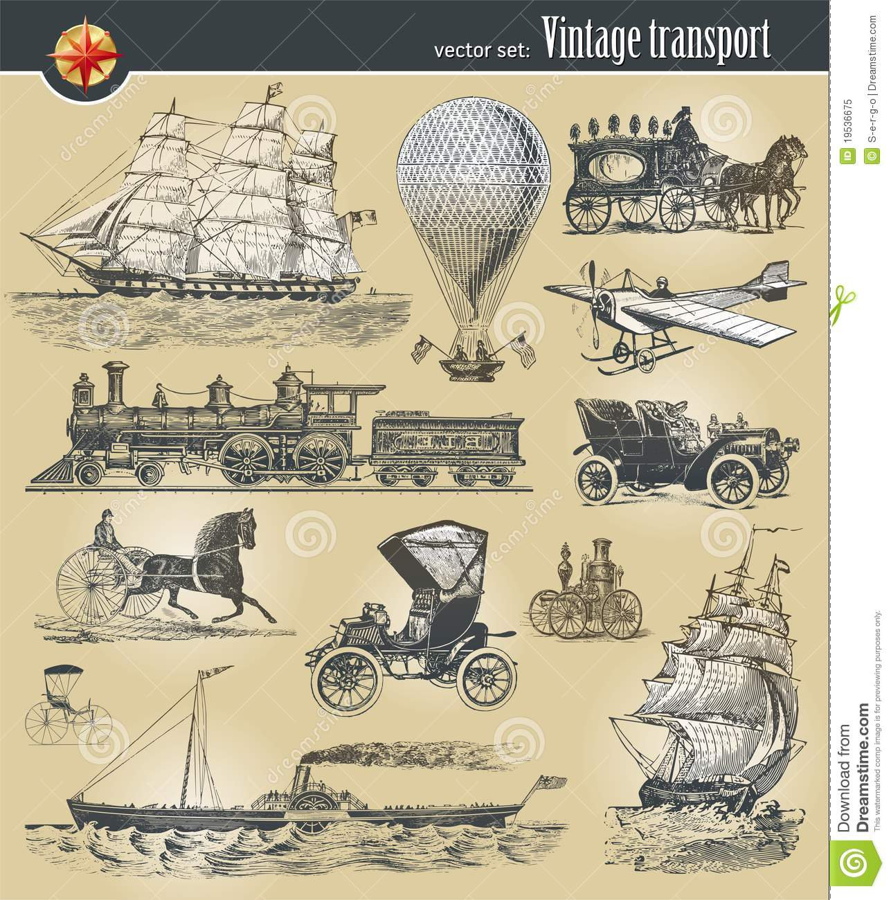 Vintage Historical Transport Royalty Free Stock Photo