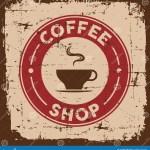 Vintage Old Retro Coffee Sign Signage Stock Vector Illustration Of Design Label 109159340