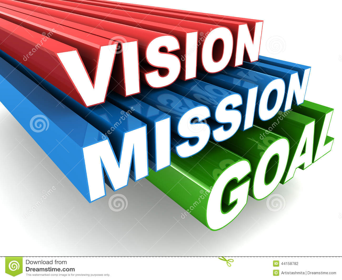 Vision Mission Stock Illustration Illustration Of Achieve