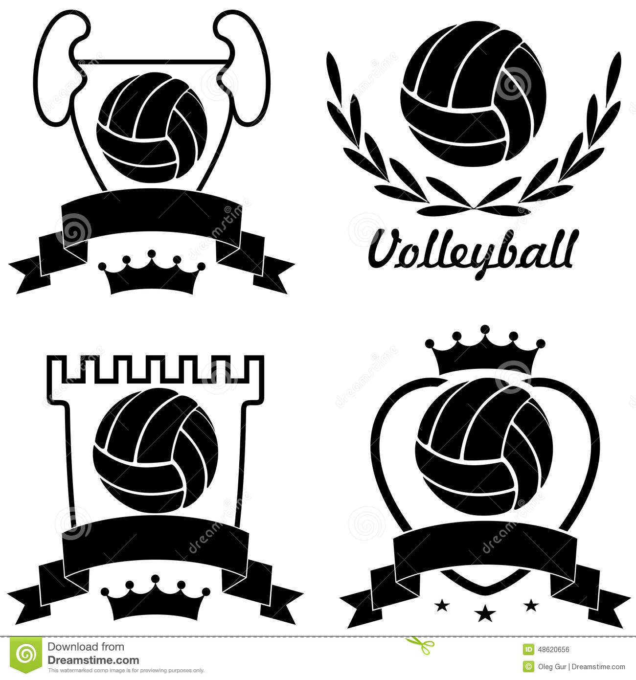Volleyball Stock Vector