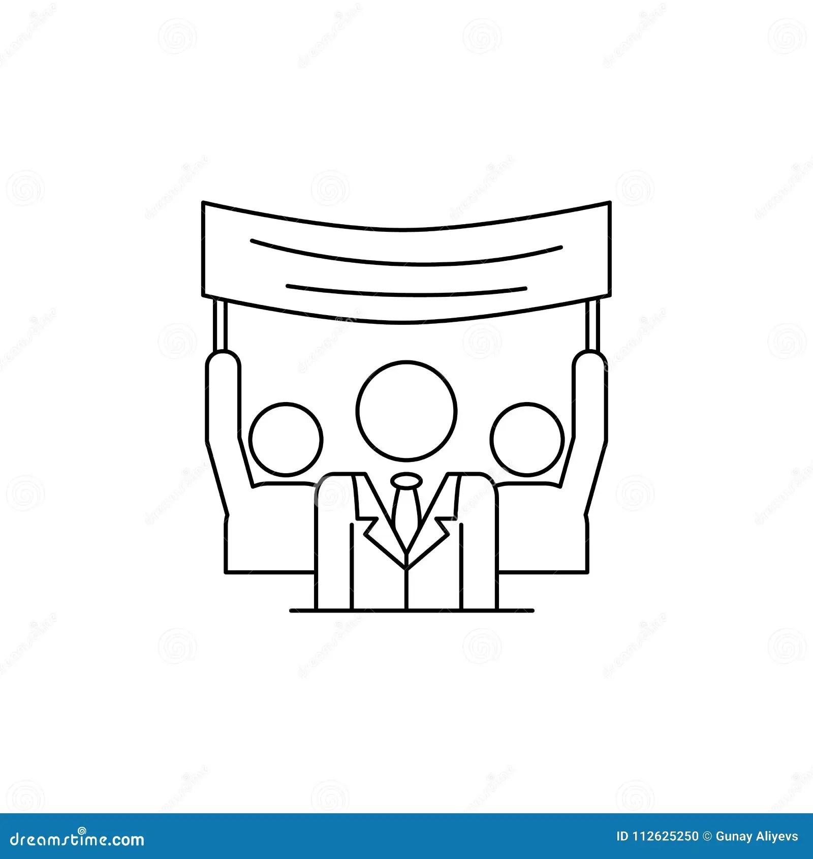 Political Symbol Of Democrat And Republican Vote Stock