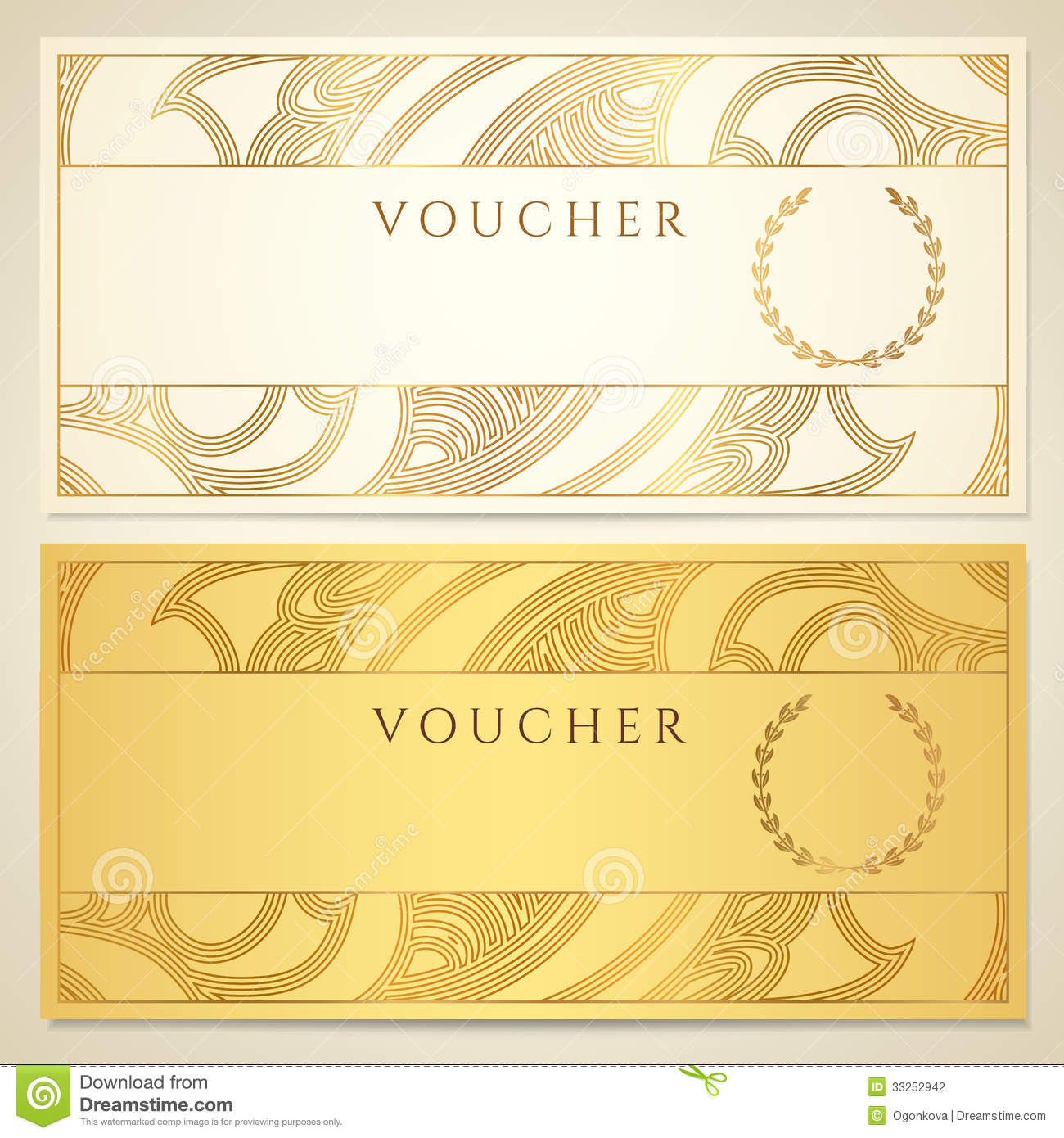 Haircut Gift Certificate Template