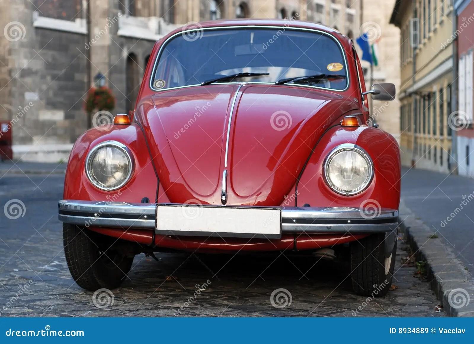 Vw Volkswagen Beetle Old Stock Image Image Of Historic