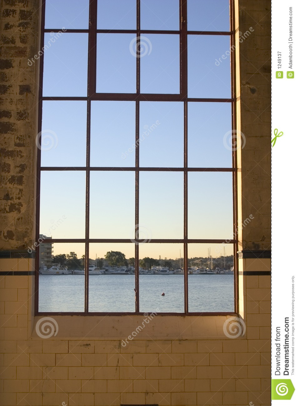 Warehouse Window Royalty Free Stock Photography Image