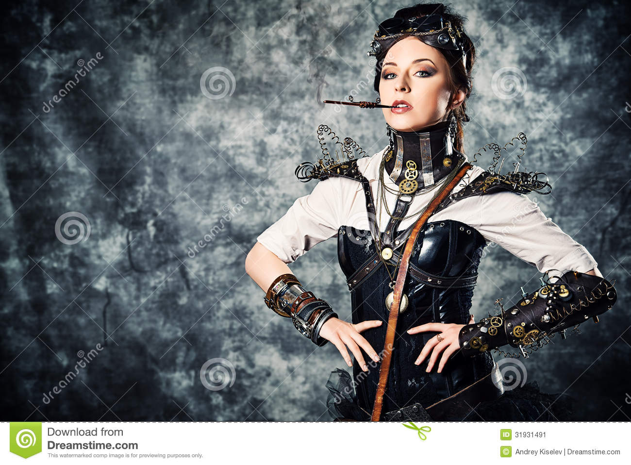 Warrior Lady Stock Image Image Of Fantasy Clothes