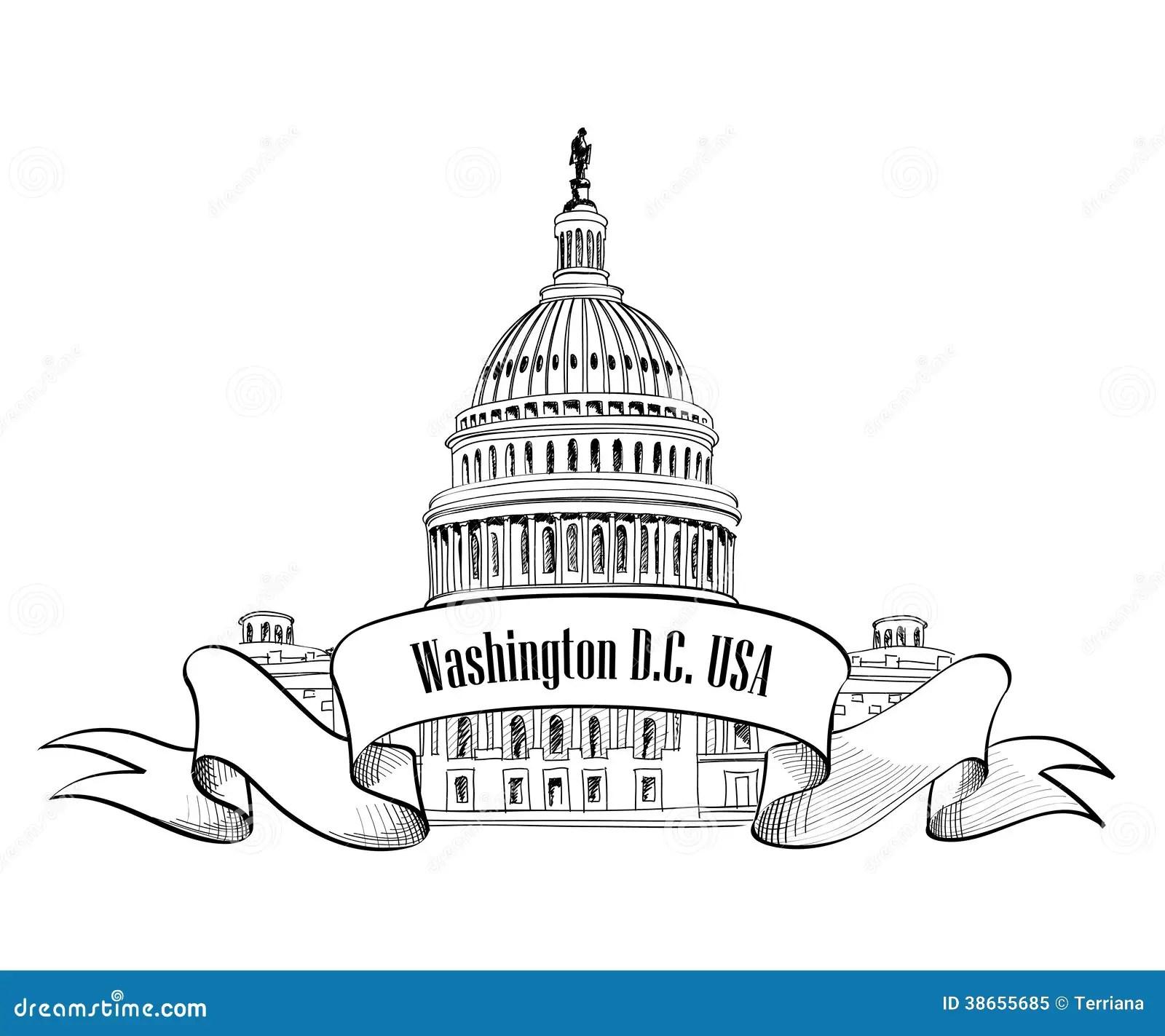 Washington Dc Icon Stock Image Image Of Historic