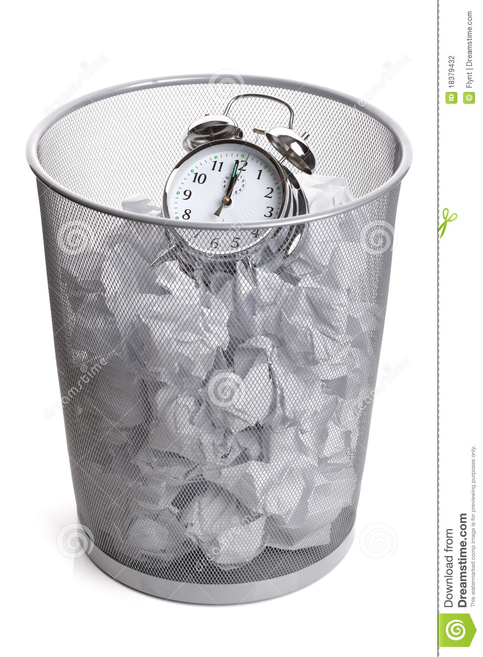 Wasting Time Stock Photography Image 18379432
