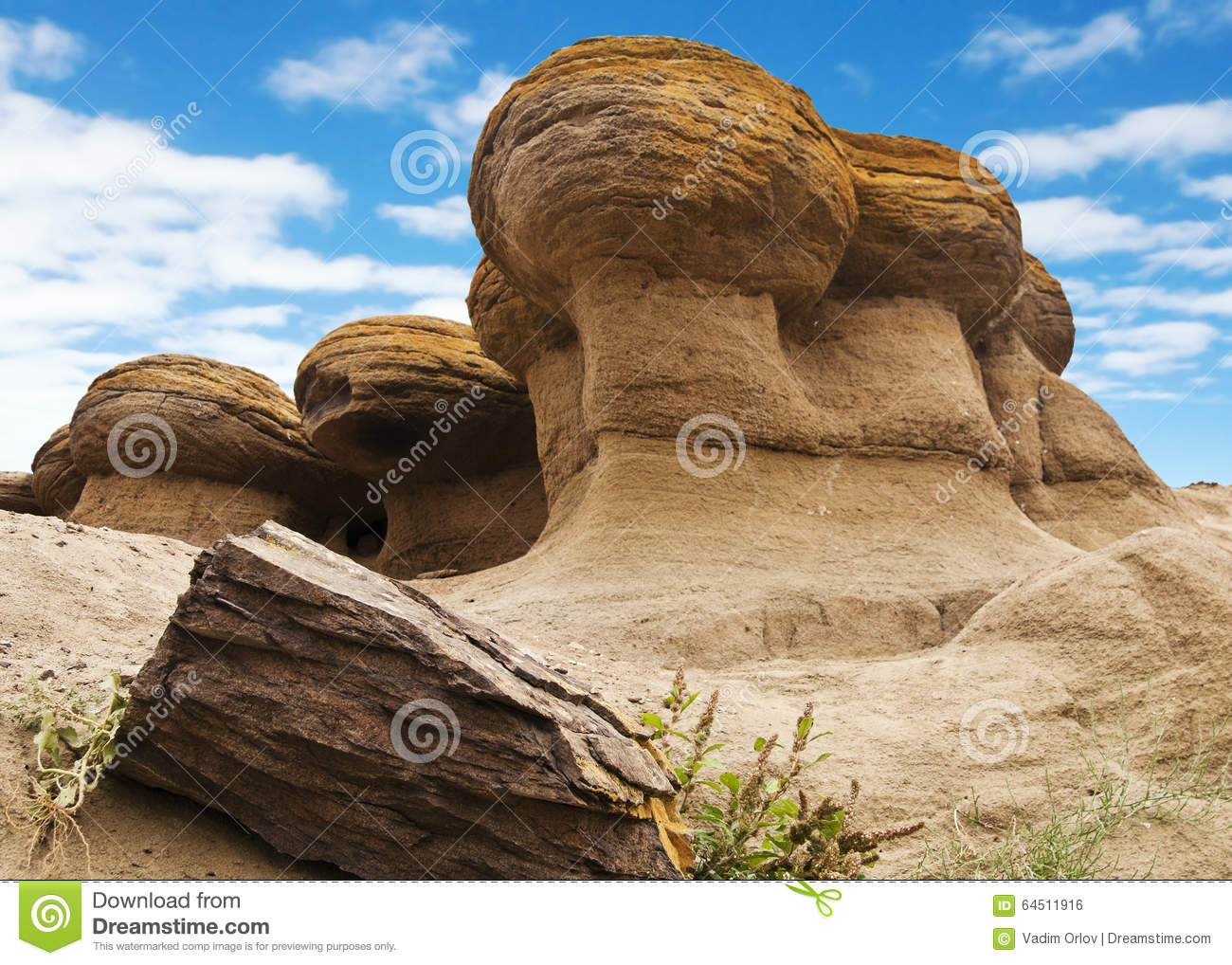 Weathering Of Rocks Stock Photo Image Of Landscape