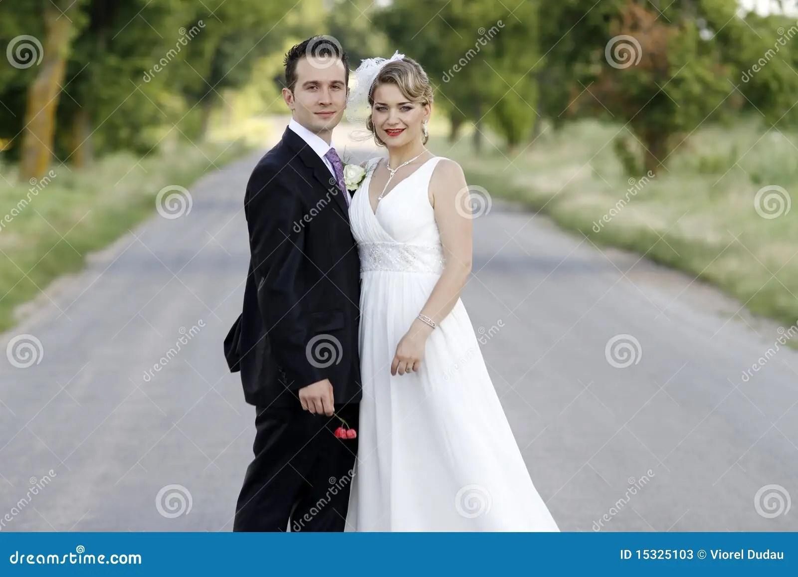 Wedding Couple Stock Image Image Of Pretty Happy