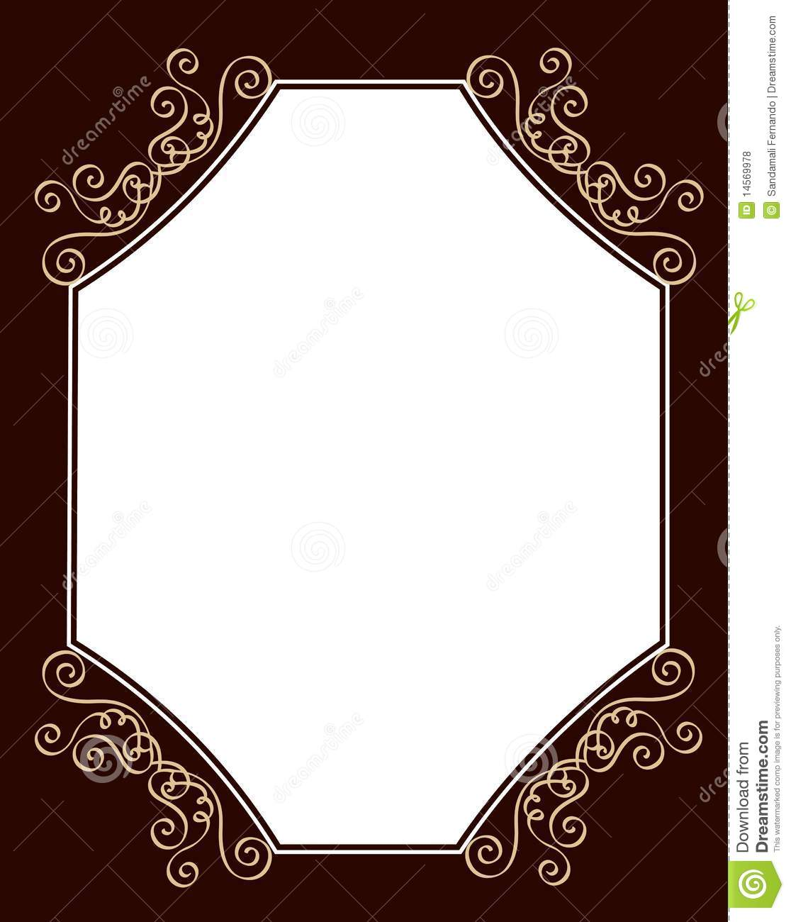 Wedding Invitation Template Stock Vector Illustration Of