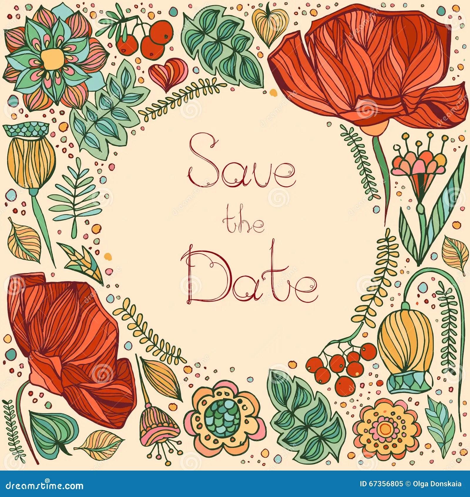 Wedding Invitation Template Invitation Envelope Thank You Car Stock Vector Image 67356805