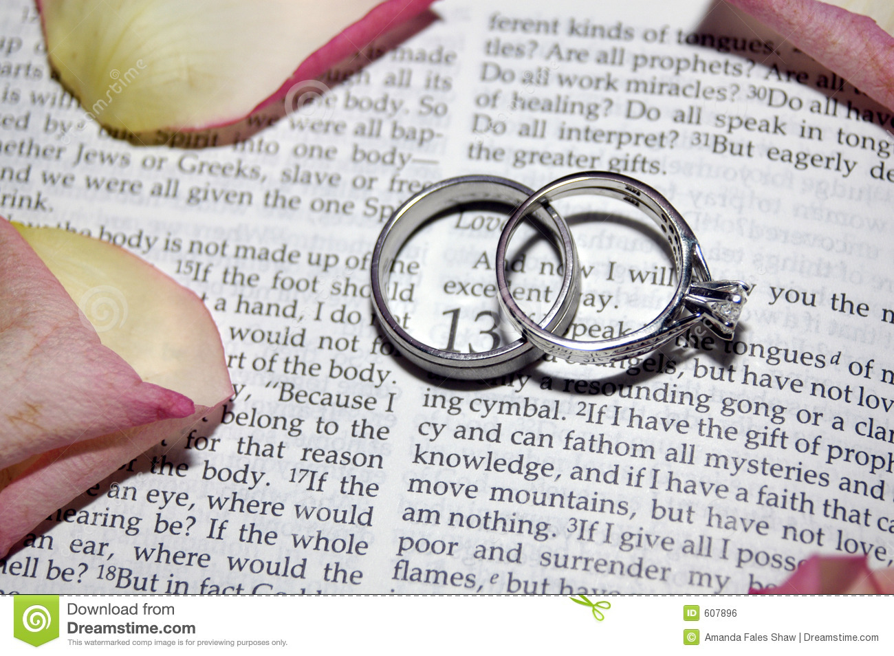 Wedding Rings Stock Photo Image Of Words Patient Rings