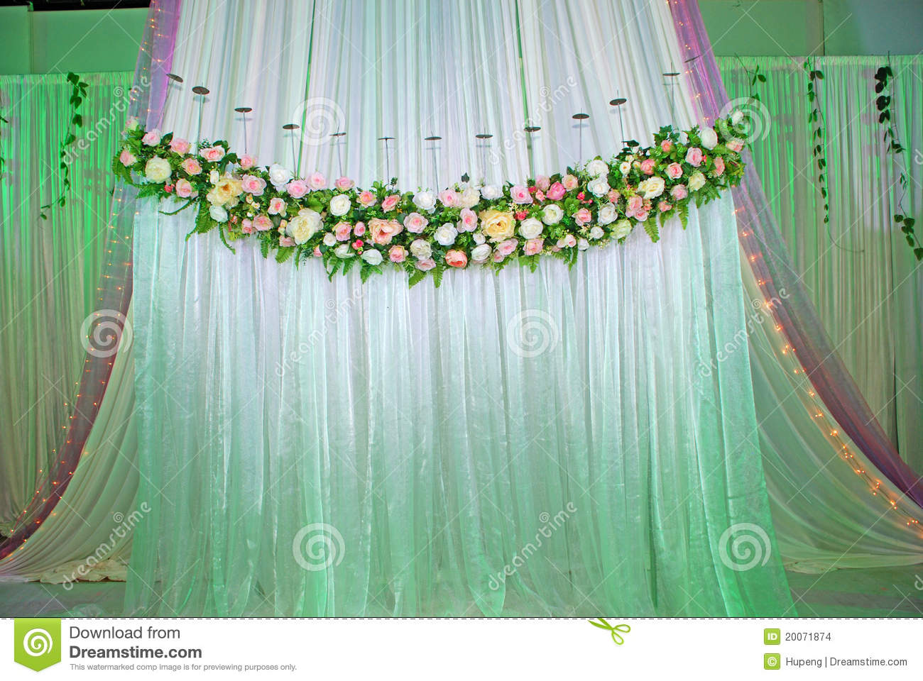 Wedding Stage Stock Images Image 20071874