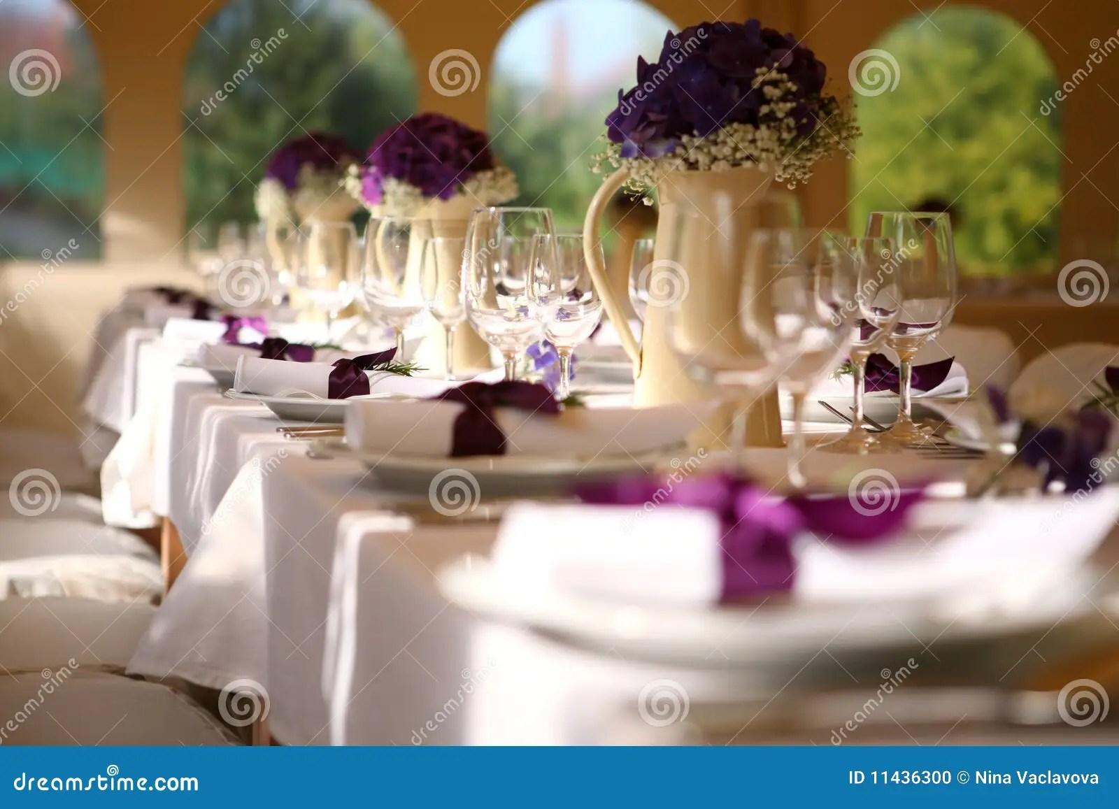 Wedding Table Stock Photo Image Of Beautiful Hotel
