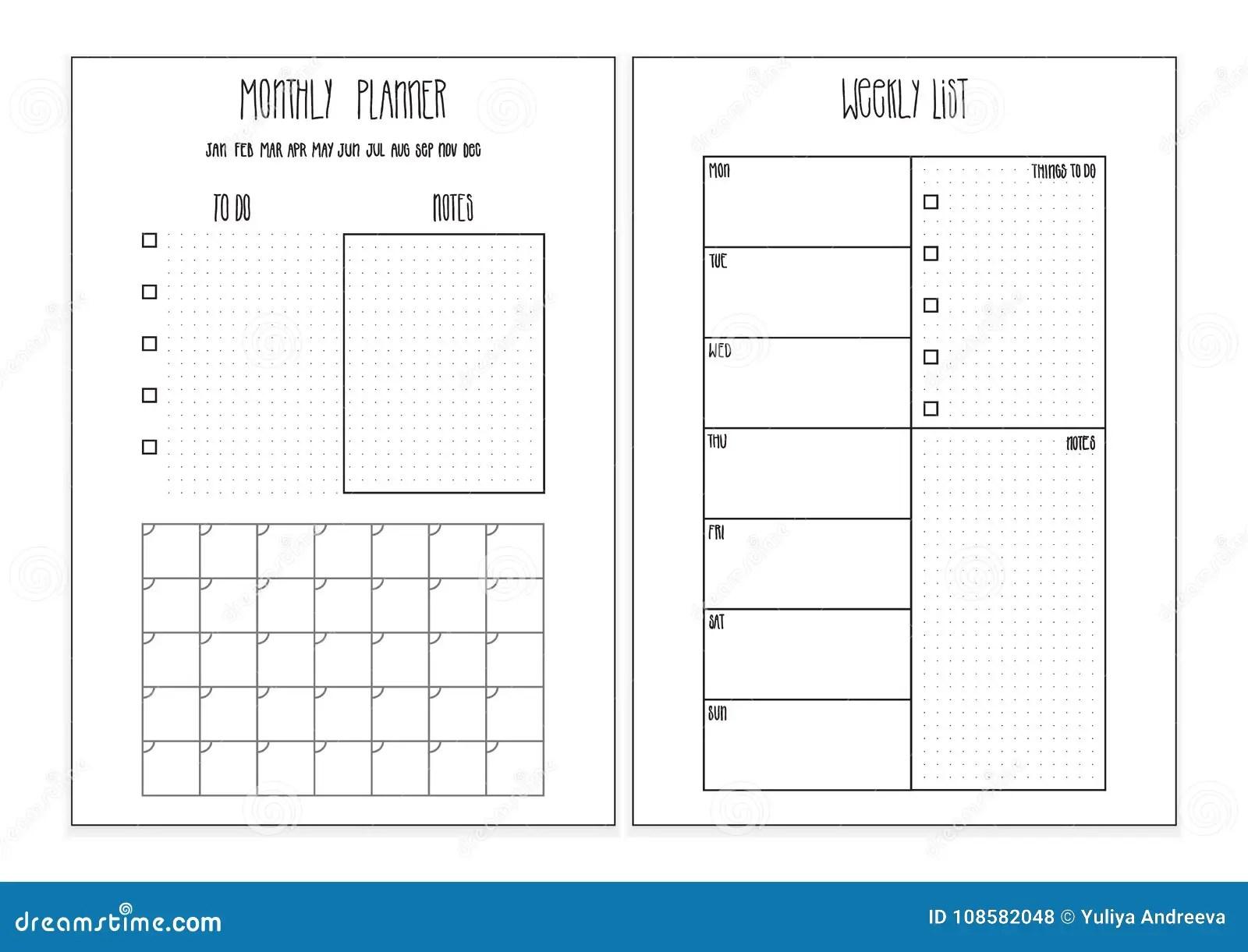 Printable 7 Template Day Calendar