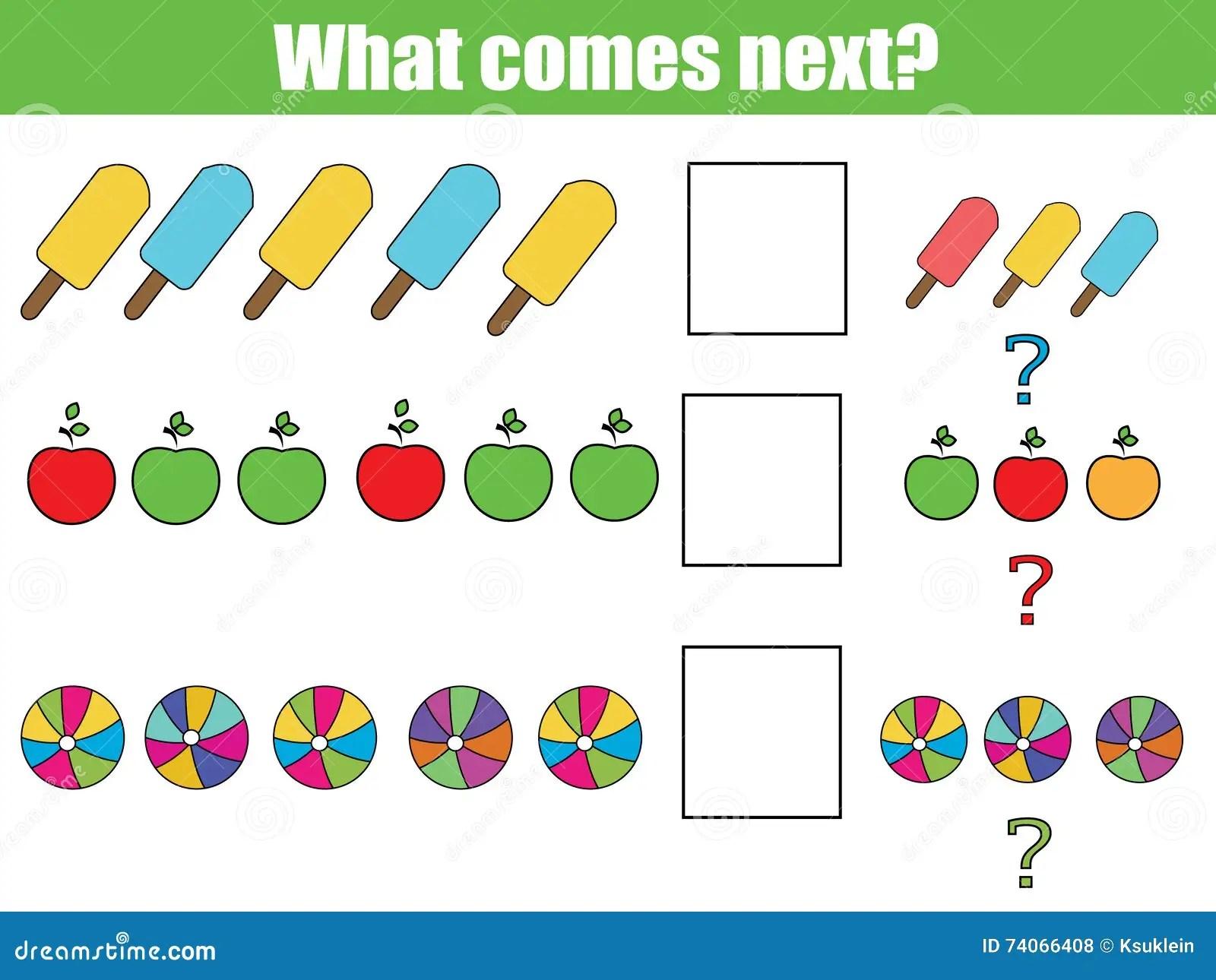 Abb Pattern Worksheet For Kindergarten