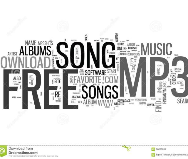 Where To Go To Download That Free Mp Song Word Cloud