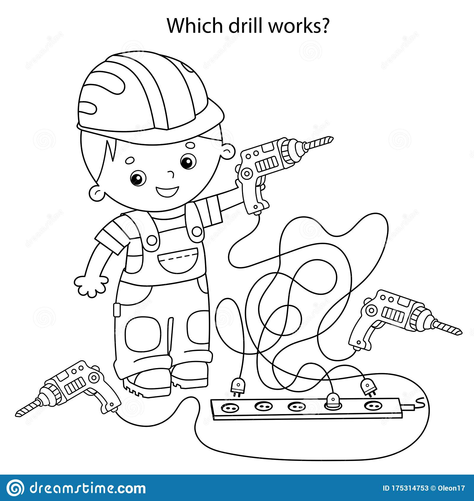 Which Drill Works Maze Or Labyrinth Game For Preschool