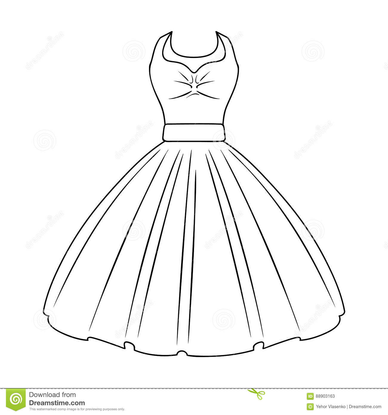 Dress Clipart