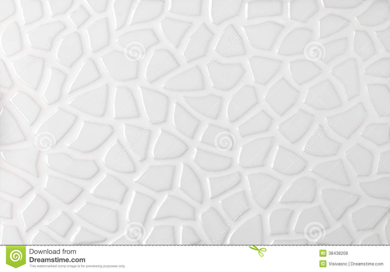 White Marble Textures Mosaic Tiles Collage Royalty Free