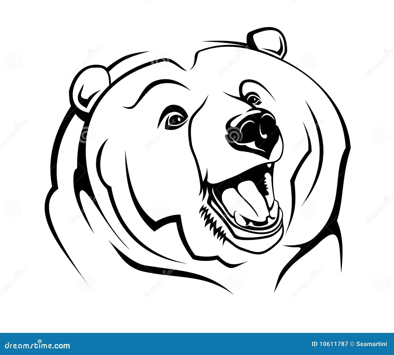 Wild Bear Stock Vector Illustration Of Insignia Emblem