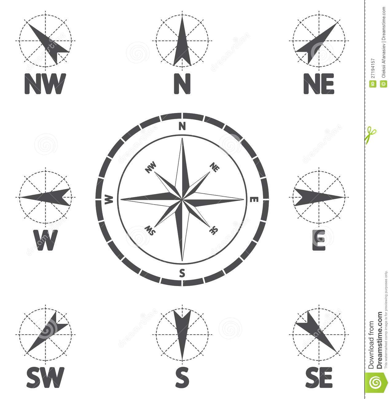 Wind Direction Royalty Free Stock Photography