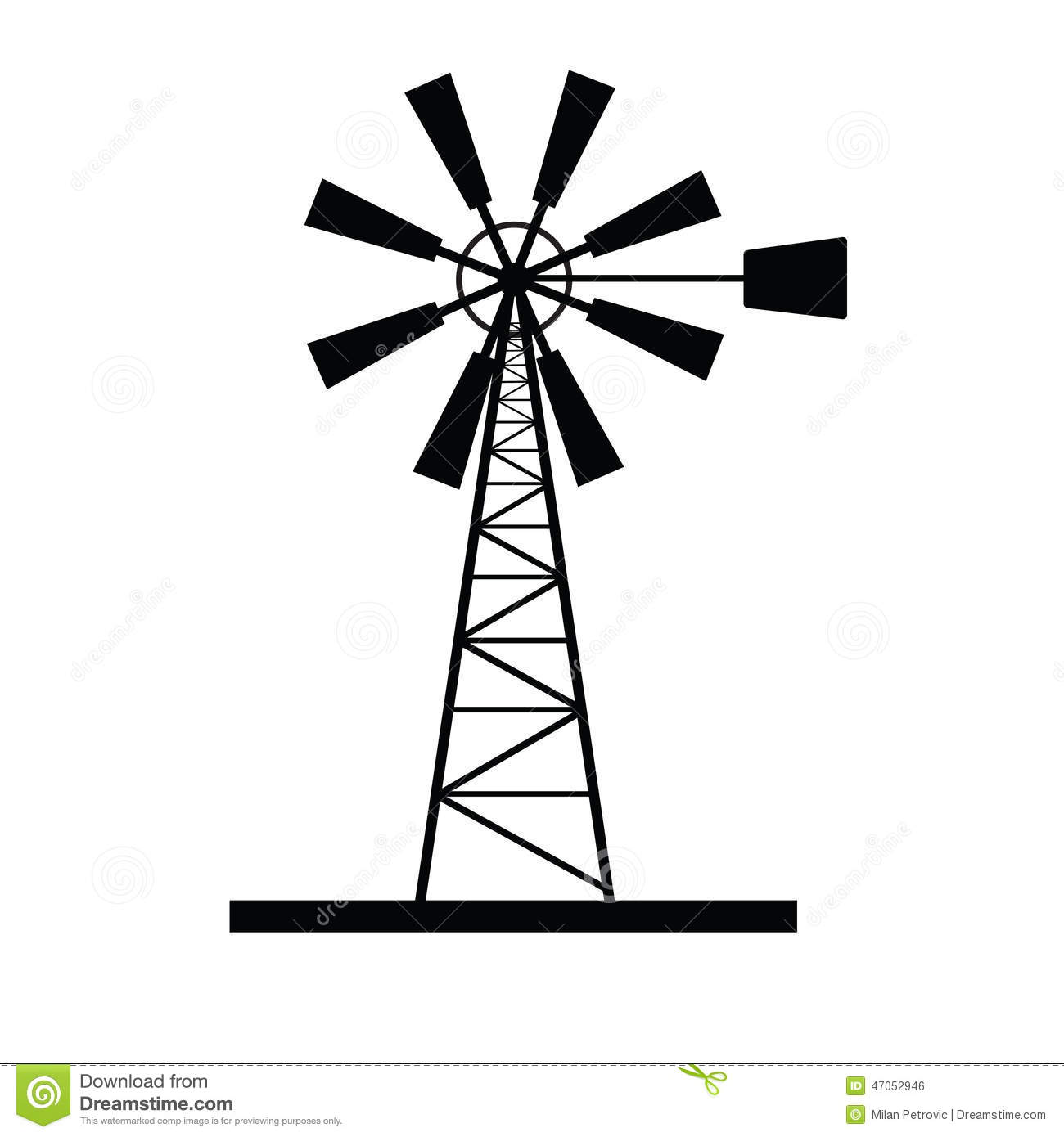 Old Style Windmill Plans Fay