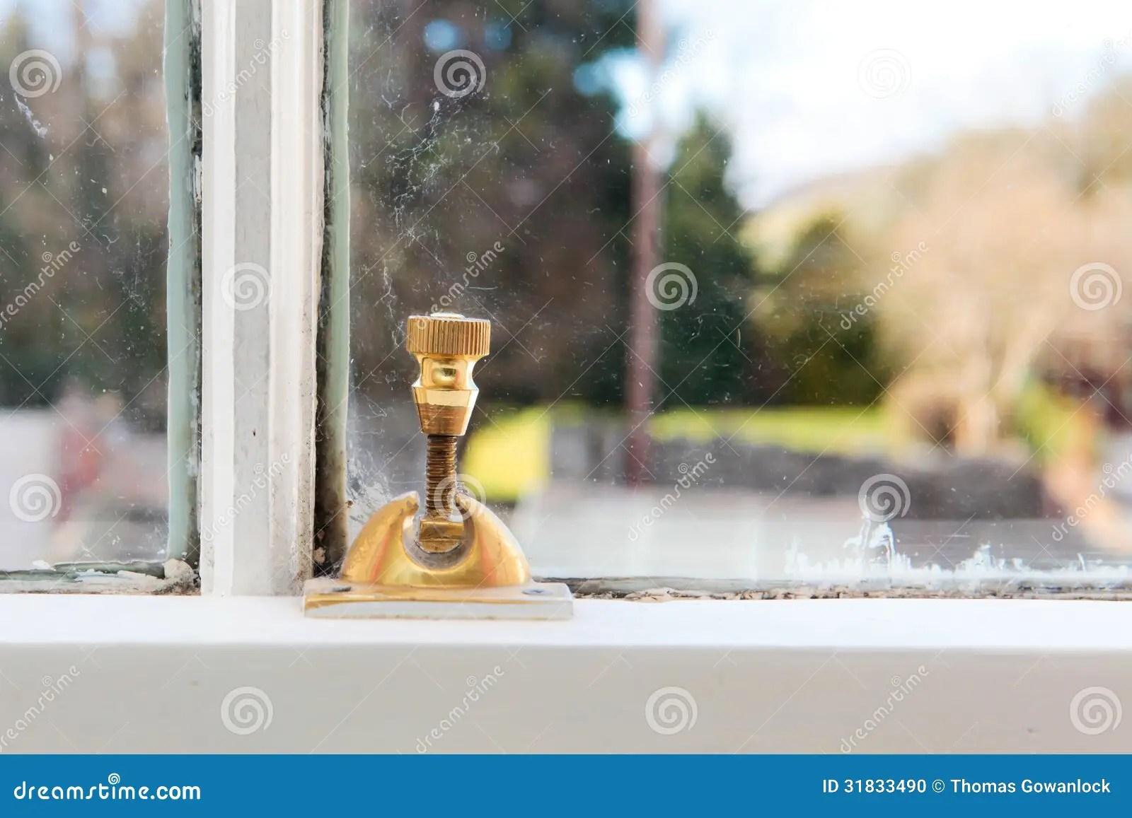 Window Lock Stock Photo Image 31833490