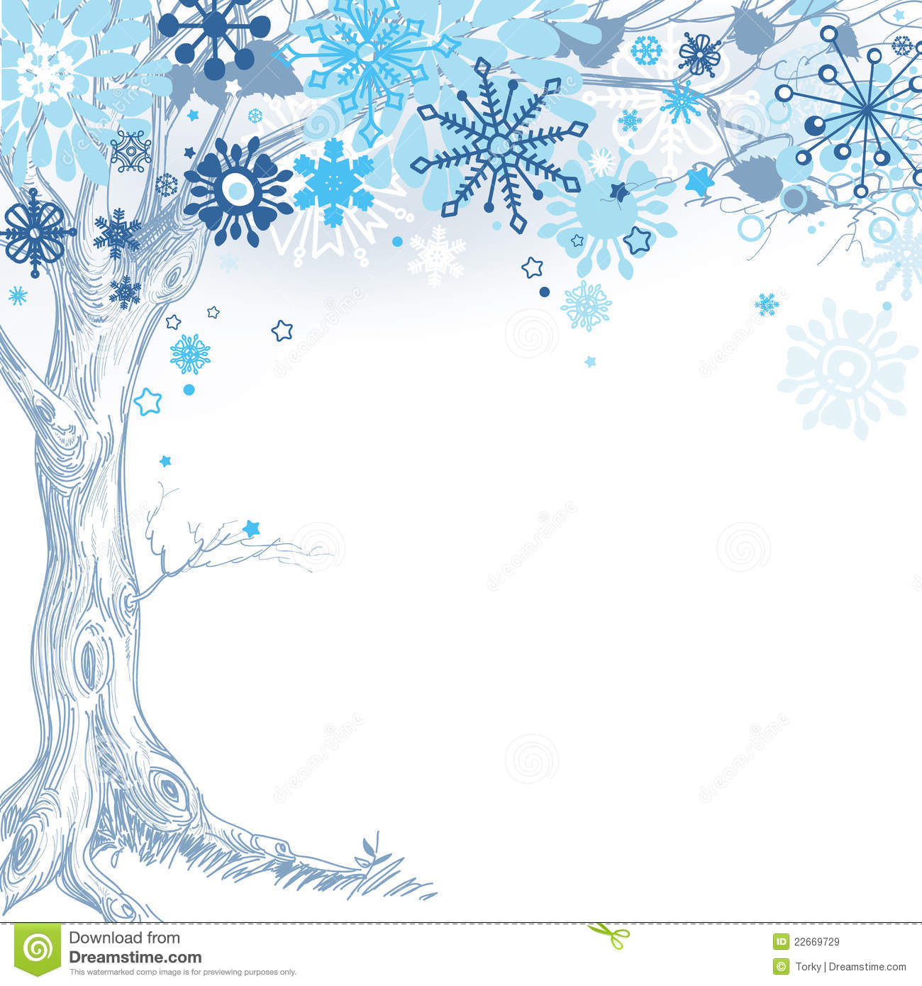 winter tree royalty free stock images image 22669729