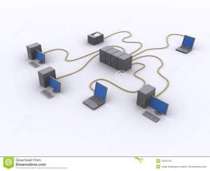 Wired work diagram stock illustration Image of