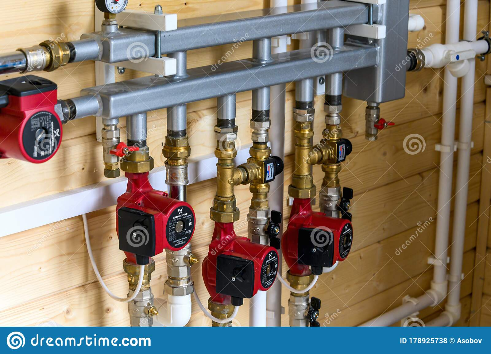 Wiring Of Engineering Systems In A Residential Building