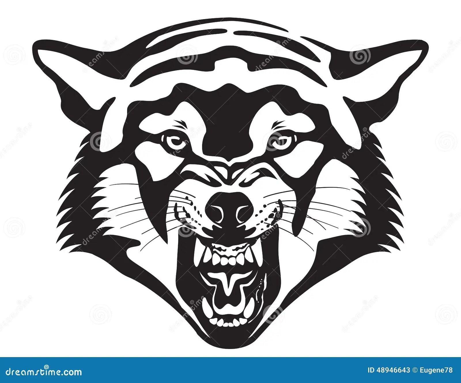 dark grey wolf