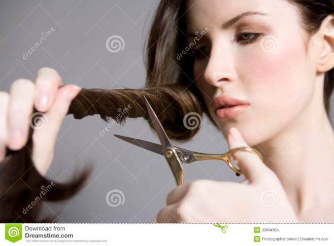 Image Result For Cutting Long Hair Short