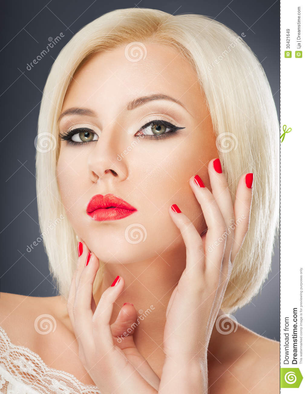 Woman Portrait Royalty Free Stock Images Image 30421649