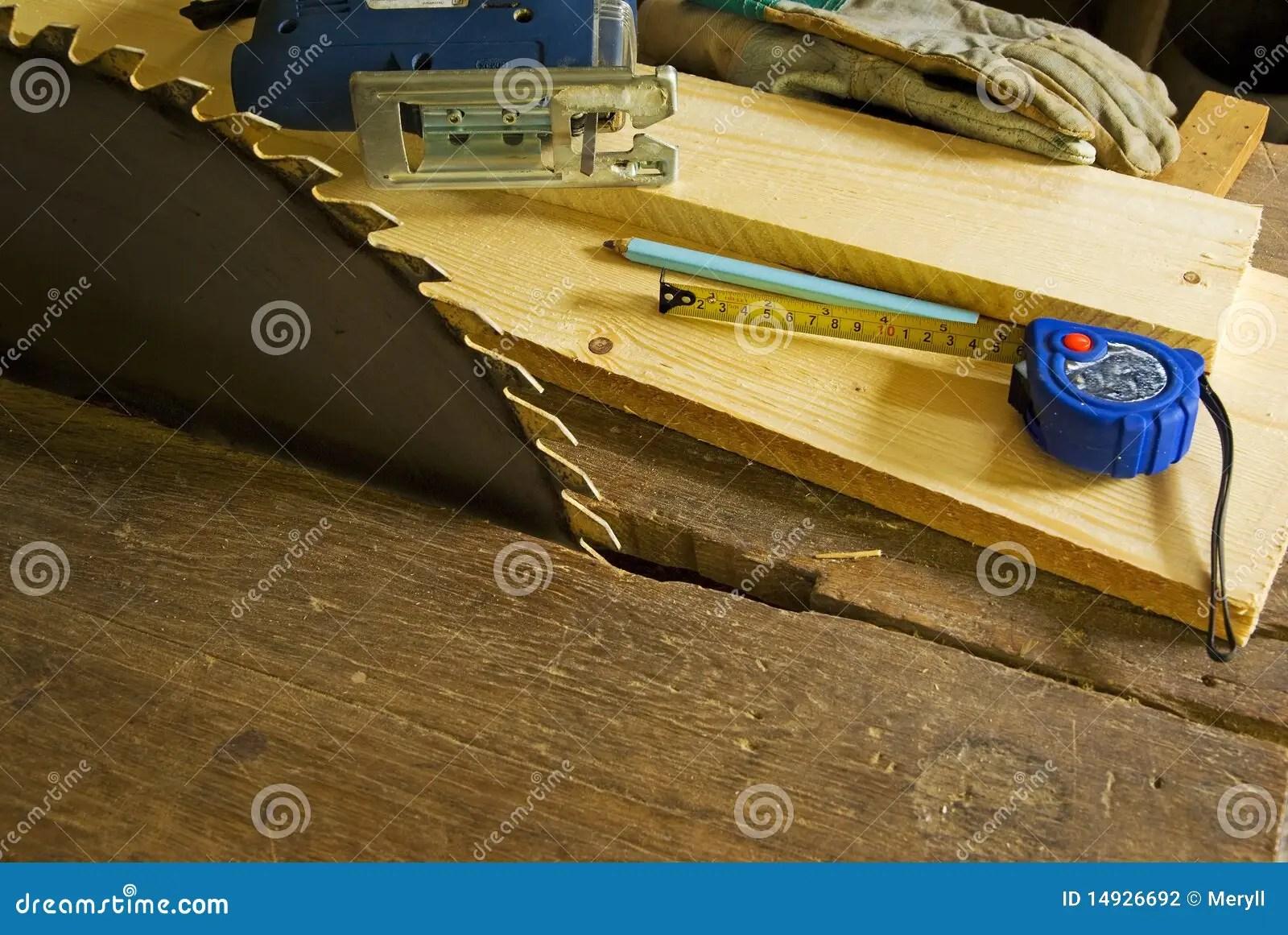 Wood Work Workshop Background Stock Photo Image 14926692