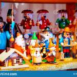 Wooden Christmas Tree Toys In Christmas Market In Germany Reflex Editorial Stock Image Image Of Nutcracker Decoration 164825099