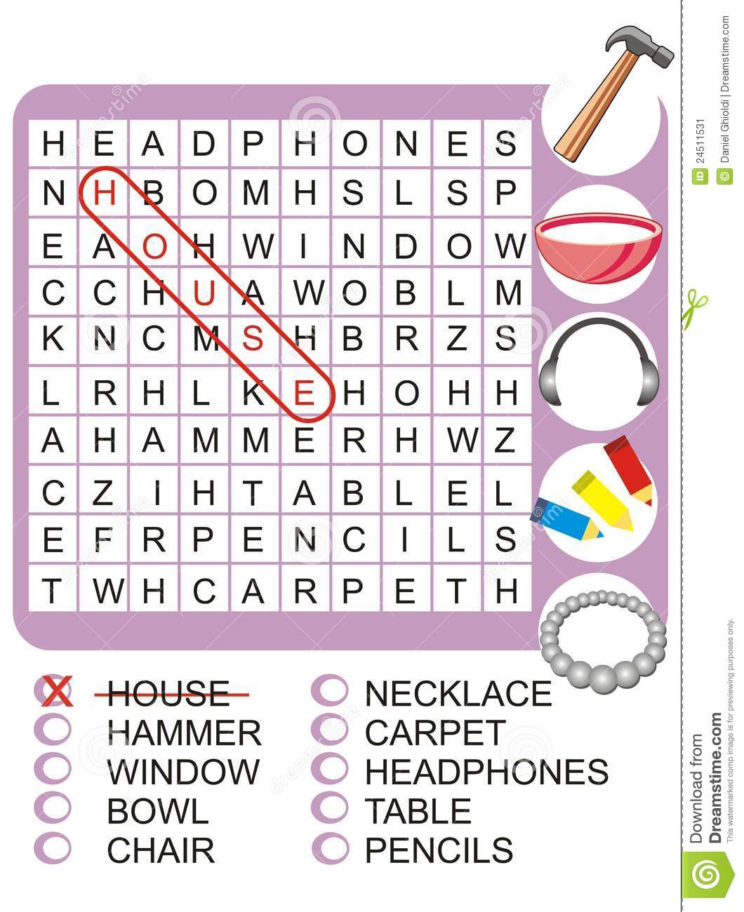 Word Search Game