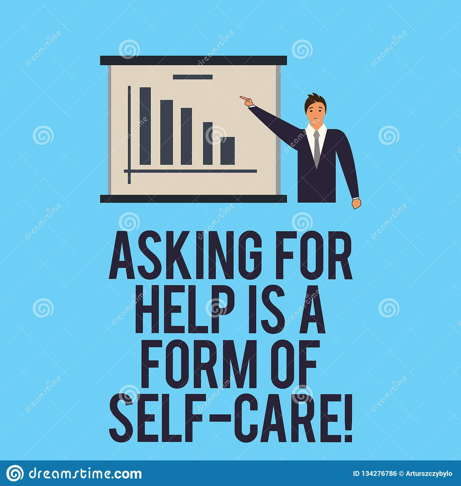 Word Writing Text Asking For Help Is A Form Of Self Care