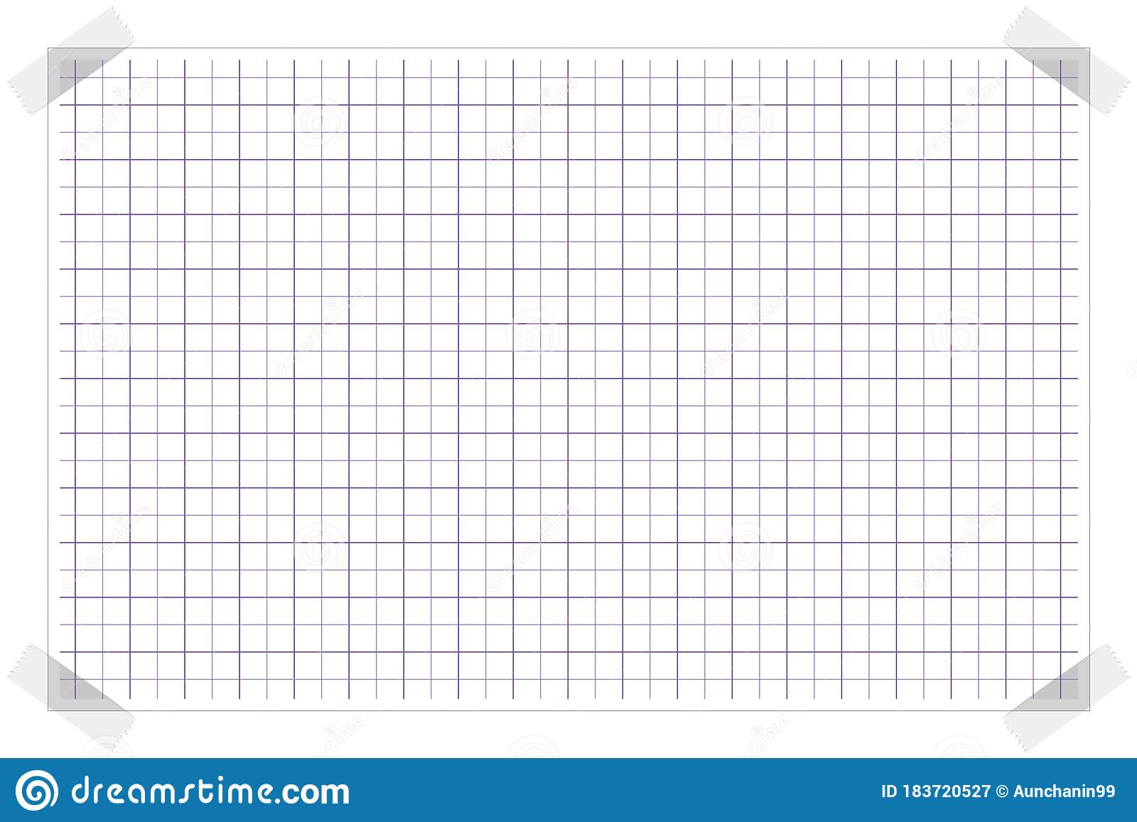 Worksheet Graph Grid Seamless Squared Cells Paper