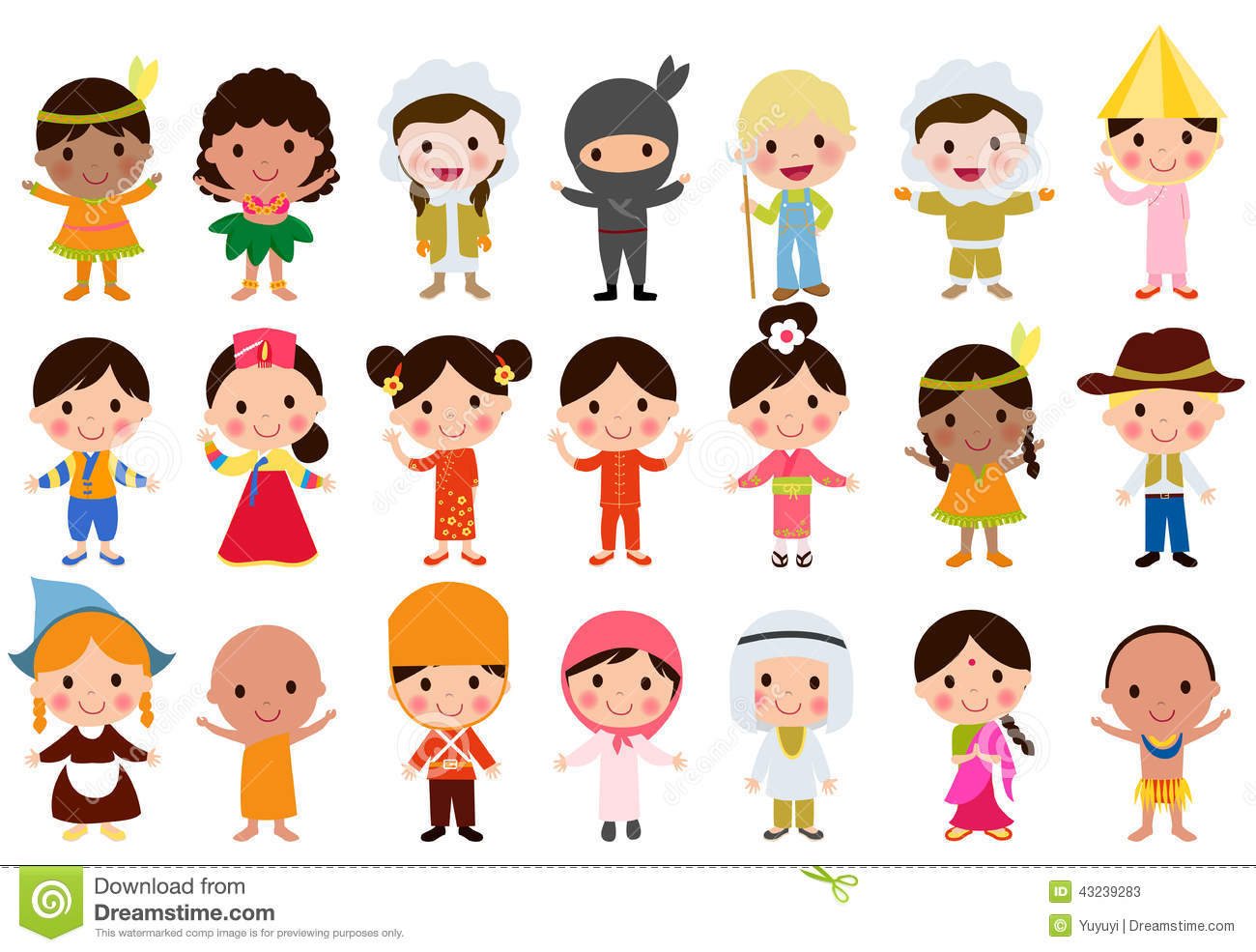 World Kids Stock Illustration Illustration Of Happy