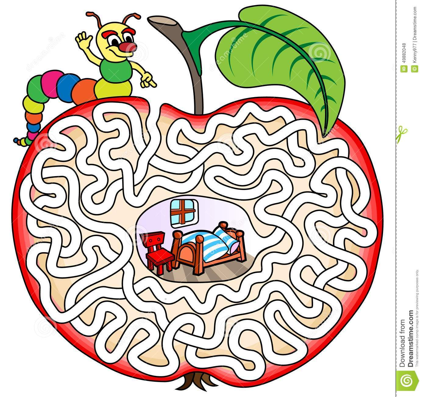 Worm In An Apple