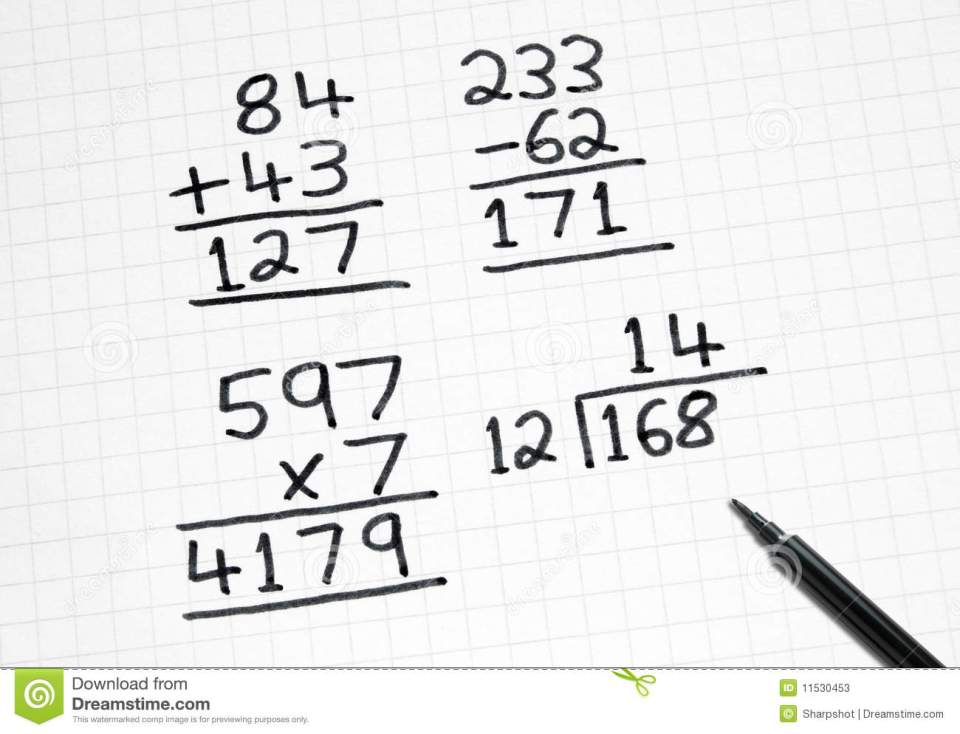 Image Result For Maths Sums For