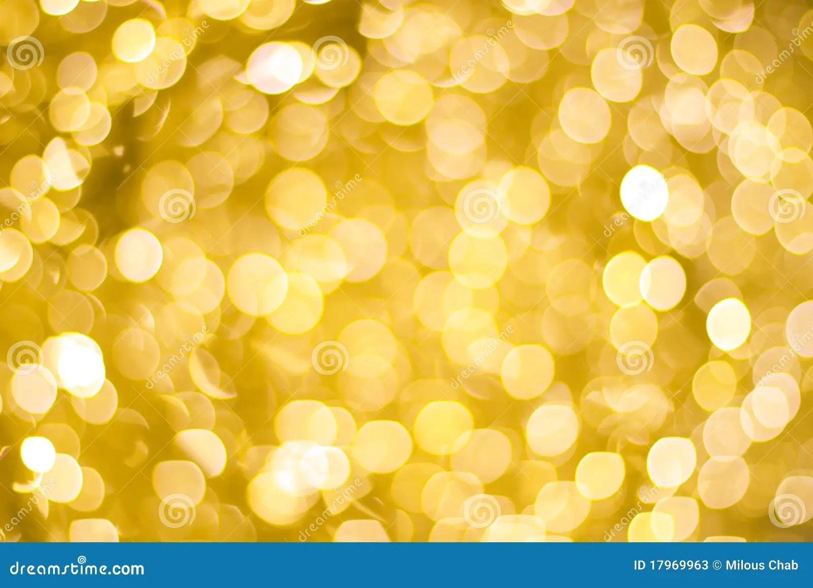 Christmas Lights Yellow