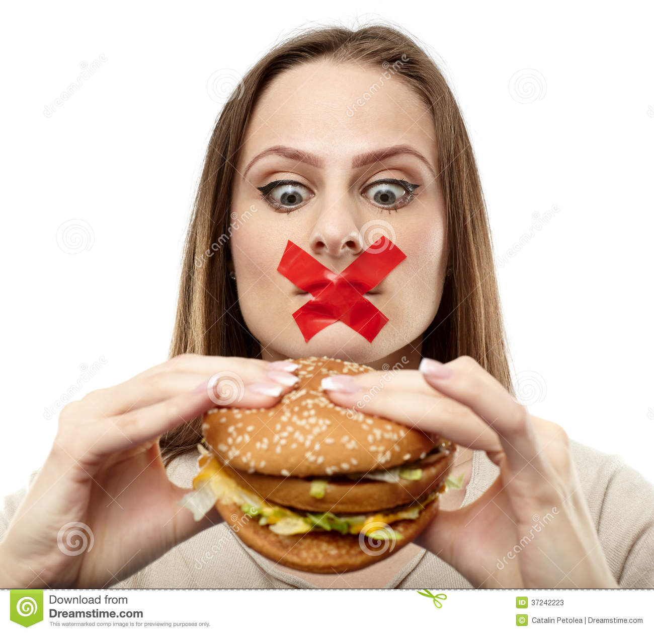You May Not Eat Junk Food Stock Photos